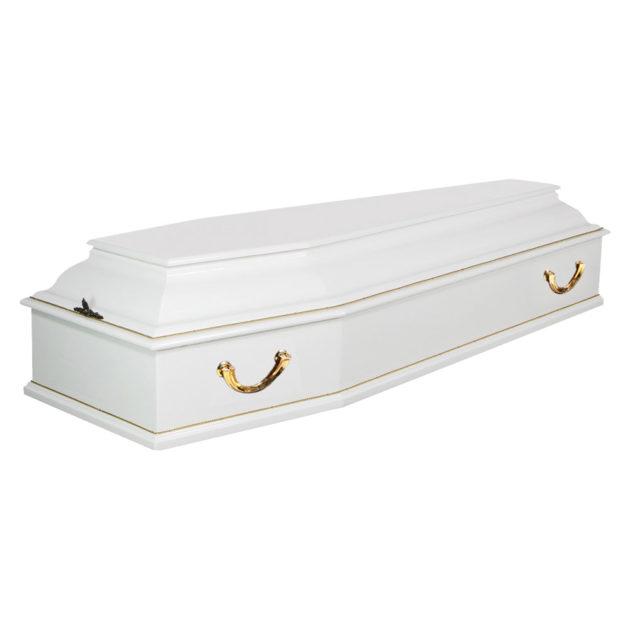 Гроб лакированный №4