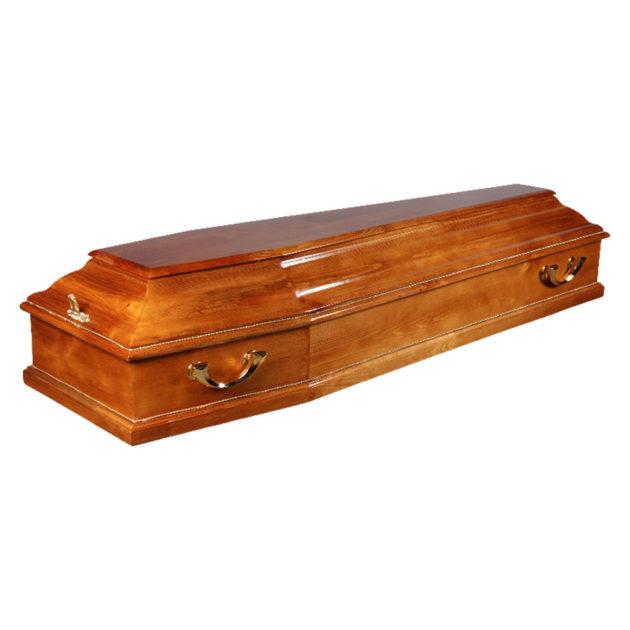 Гроб лакированный №5