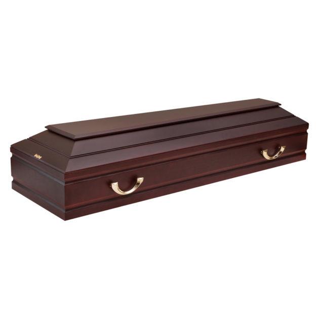 Гроб лакированный №8