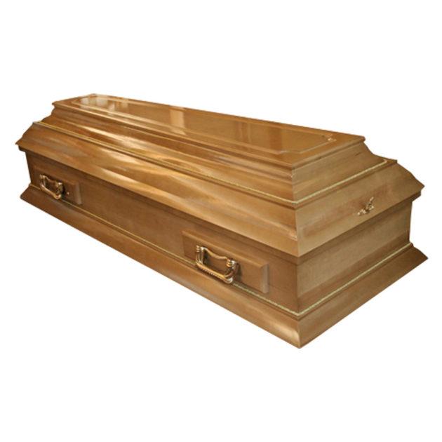 Гроб лакированный №9