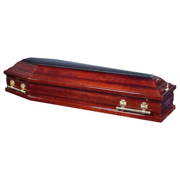 Гроб лакированный №17
