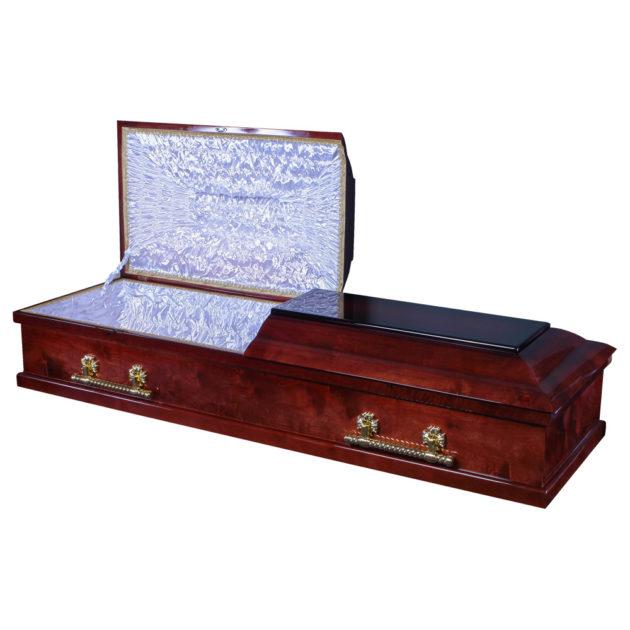 Гроб лакированный №19