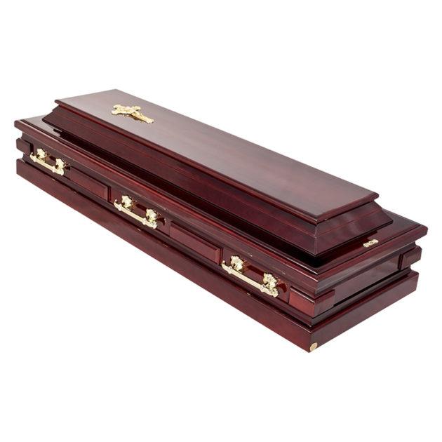 Гроб лакированный №20
