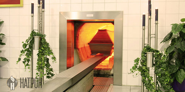 Кремация в Саратове - захоронение урны в колумбарии