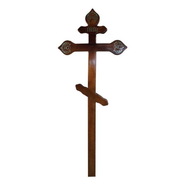 """Крест (сосна """"резной"""") 220 см"""