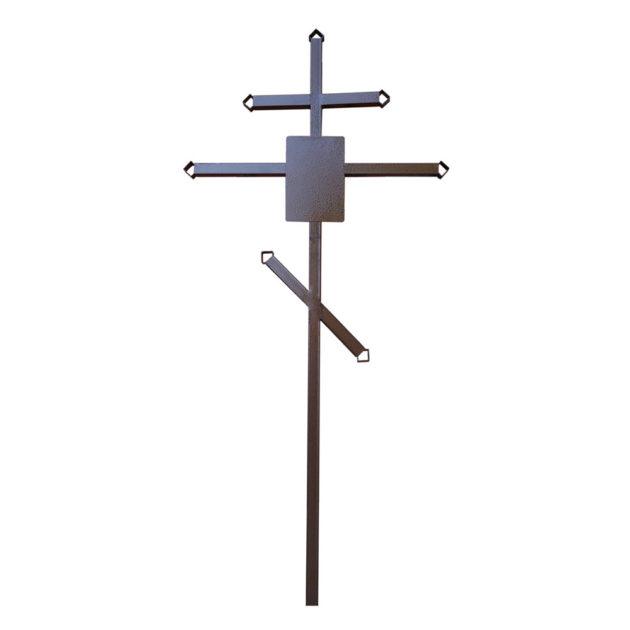 """Крест (металл """"молотковая эмаль"""") 235 см"""