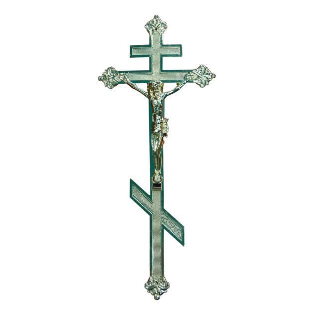 Крест на крышку гроба (фольга) №2