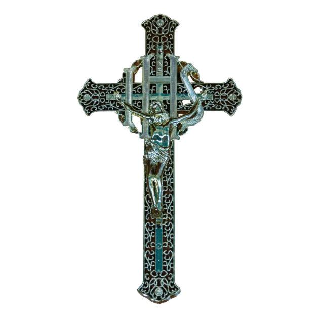Крест на крышку гроба (пластик) №1
