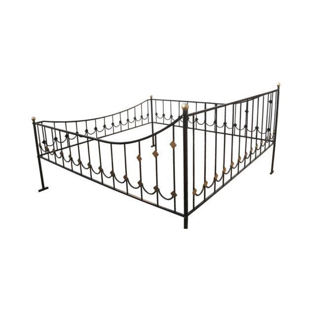 Ограда 2x2м (75x115см)